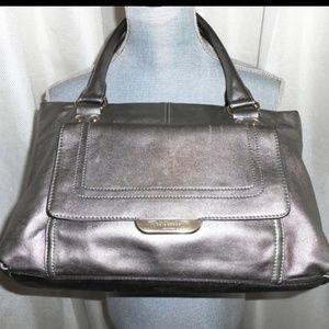 Kate Spade satchel with front flap pocket